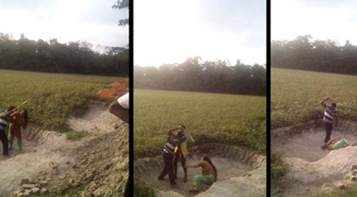 হাতিয়ায় নারীকে বিবস্ত্র করে পেটালো থানার 'দালাল' (ভিডিওসহ)