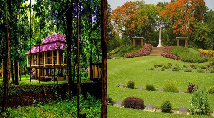 ঐতিহ্য ও প্রকৃতি দেখতে যান কুমিল্লায়