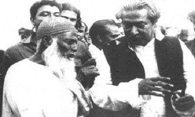 মওলানা আবদুল হামিদ খান ভাসানীর ৪০তম মৃত্যুবার্ষিকী আজ