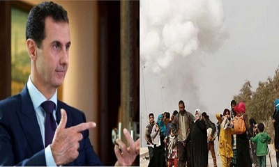 'রাসায়নিক হামলার পরিকল্পনা করছেন আসাদ'