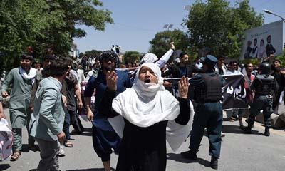 অাফগানিস্তানে মসজিদে ভয়াবহ আত্মঘাতী হামলায় নিহত ৩০
