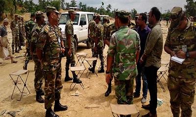 সেনাবাহিনীর হস্তক্ষেপে অবশেষে স্বস্তি ফিরল রোহিঙ্গা ক্যাম্পে