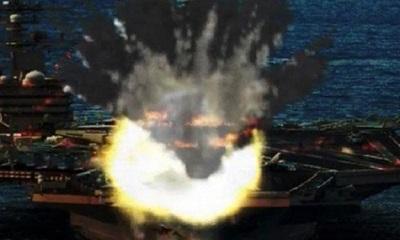 মার্কিন রণতরীতে উত্তর কোরিয়ার ক্ষেপণাস্ত্র হামলা, যুদ্ধ শুরু!
