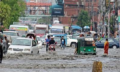 রাজধানীতে ৬৩ মিলিমিটার বৃষ্টিপাত