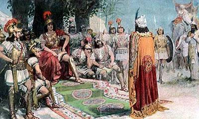 বেআদপদের কাছ থেকে আদপ শিখেছিলেন আলেকজান্ডার