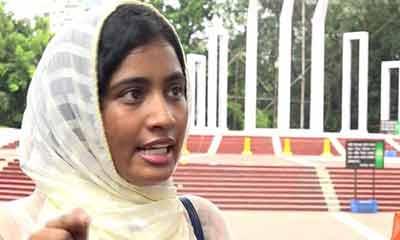আন্দোলনে গুজব : কোটা নেতা লুনা ৩ দিনের রিমান্ডে