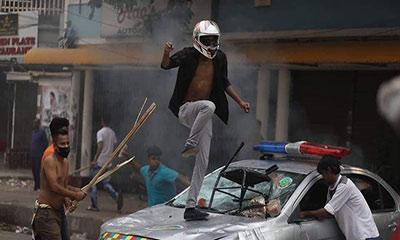 নয়াপল্টনে সংঘর্ষ: ৩ মামলায় গ্রেপ্তার অর্ধশতাধিক