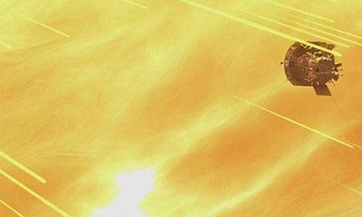 সূর্যের সবচেয়ে কাছ থেকে তোলা ছবি প্রকাশ করলো নাসা