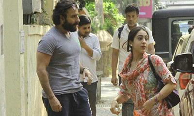 সারার দিকে কুনজর দিলেই ঘুষি মারব: সাইফ