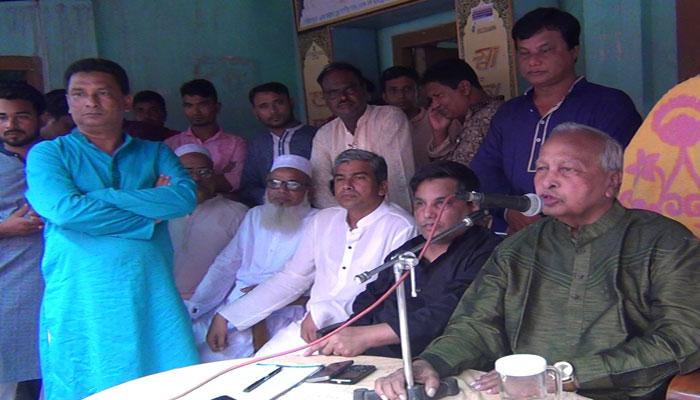 নির্বাচন করবেন না জমির উদ্দিন, দোয়া চাইলেন ছেলের জন্য