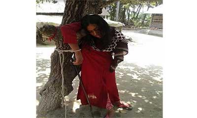 কালিগঞ্জে গৃহবধূকে গাছে বেঁধে নির্যাতন, আটক-২