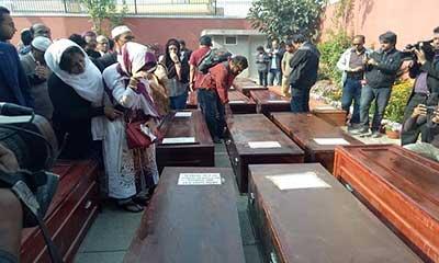 নেপালে প্রথম জানাজা সম্পন্ন, ২৩ জনের লাশ হস্তান্তর
