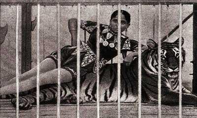 যে বাঙালি নারীর হাতের ইশারায় উঠ-বস করতো দু`টি বাঘ!