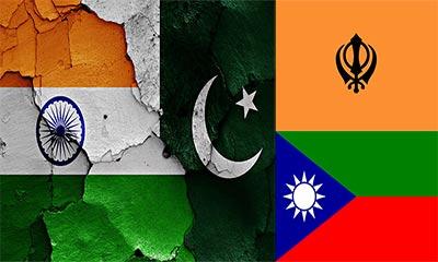 খালিস্তান থেকে বেলুচিস্তান: ভারত থেকে পাকিস্তান