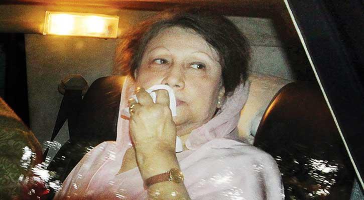 খালেদার জামিন বহাল, বুধবার পূর্ণাঙ্গ বেঞ্চে শুনানি