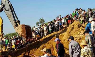মিয়ানমারে খনি ধসে নিহত ১৫, আহত অর্ধশতাধিক