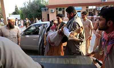 আফগানিস্তানে ঈদ জামাতে আত্মাঘাতী বোমা হামলায় নিহত ২৬