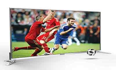 ফুটবল বিশ্বকাপে মার্সেলের ৪৩ মডেলের এলইডি টিভি