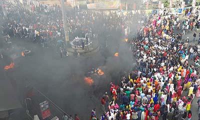 নাগরিকত্ব বিলের প্রতিবাদে আগুন জ্বলছে ভারতের ২ রাজ্যে