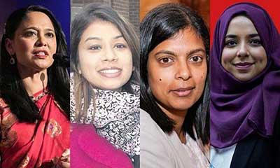 দল হারলেও জিতেছেন ৪ বাংলাদেশি নারী