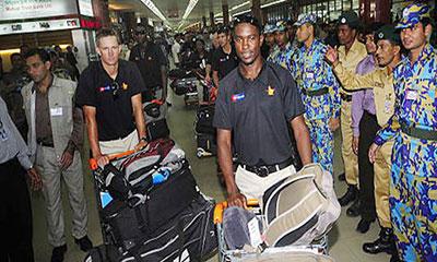 ঢাকায় জিম্বাবুয়ে ক্রিকেট দলের 'করোনা' পরীক্ষা