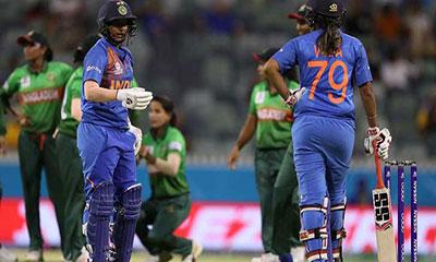 ভারতের বিপক্ষে ১৮ রানে হেরে গেল বাংলাদেশ