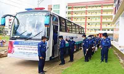 প্লাজমা দিতে কুমিল্লার ৫৬ জন পুলিশ সদস্য ঢাকায়