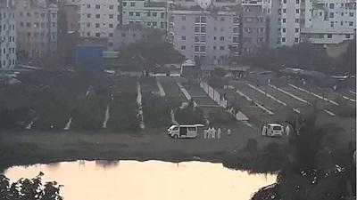 রাজধানীতে গোপনে ৮জনে মিলে জানাজা পড়ে দাফন