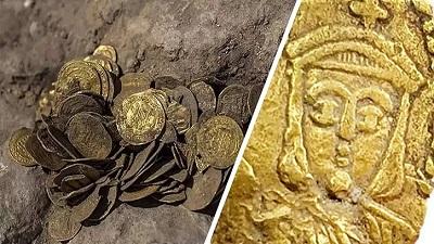 ১১০০ বছর আগের ইসলামী শাসনামলের বিপুল স্বর্ণমুদ্রার সন্ধান