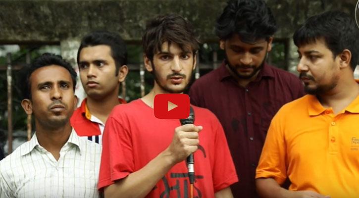 ঢাকায় কাশ্মীরি যুবক, বললেন নির্মম বাস্তবতার কথা