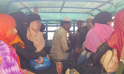 চট্টগ্রামে নারী ও শিশুসহ ৫৪ রোহিঙ্গা আটক