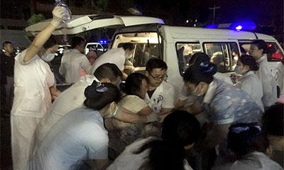 চীনে শক্তিশালী ভূমিকম্পে ১২ জনের মৃত্যু