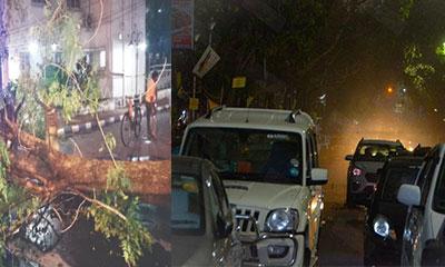 কলকাতায় হঠাৎ কালবৈশাখী ঝড়, ২ জনের মৃত্যু