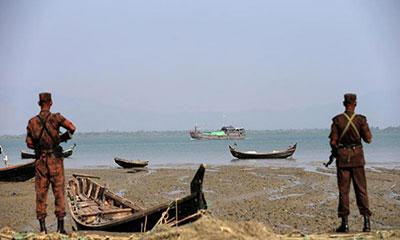 টেকনাফে গুলি বিনিময়, রোহিঙ্গা যুবক নিহত
