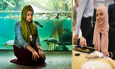 নামাজের ছবি তুলে আন্তর্জাতিক পুরস্কার জিতলেন তরুণী