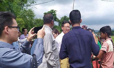 ২টি দাবি মানলেই ফিরে যাবো, চীনের প্রতিনিধিদলকে রোহিঙ্গারা