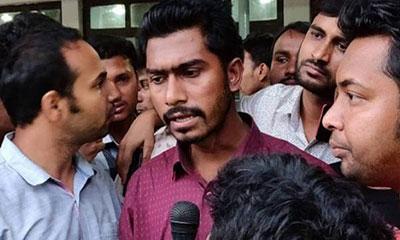 রাব্বানী পদত্যাগ না করলে ব্যবস্থা: ভিপি নুর