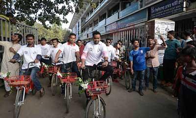 ঢাবি ক্যাম্পাসে 'জোবাইক' এর যাত্রা শুরু