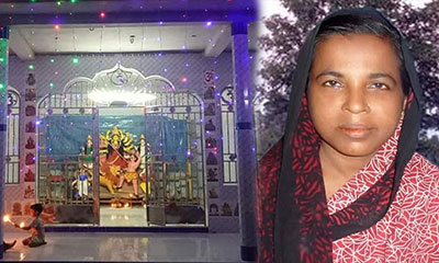 আগৈলঝাড়ায় মন্দিরে ধর্মীয় অনুষ্ঠানে বাধা, হিন্দু ধর্মাবলম্বীদের ক্ষোভ