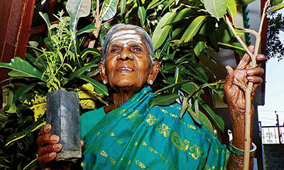 সমাজে একঘরে থিম্মাক্কাকে 'পদ্মশ্রী' সম্মান