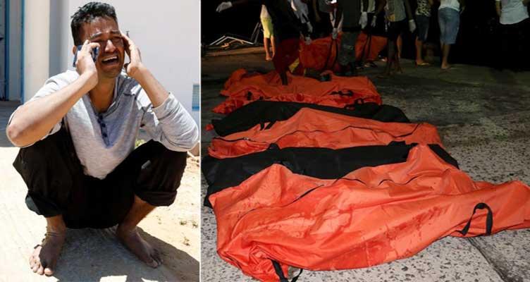 ভূমধ্যসাগরে নৌকা ডুবে মৃত ৬০ জনের অধিকাংশই বাংলাদেশি