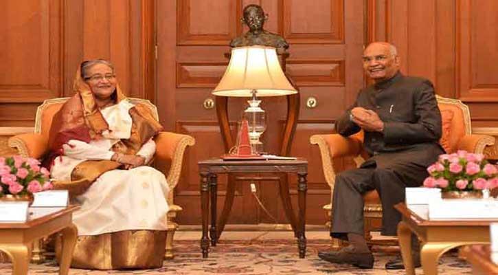 বাংলাদেশ-ভারত সম্পর্ক পরীক্ষিত, টেকসই: ভারতের রাষ্ট্রপতি
