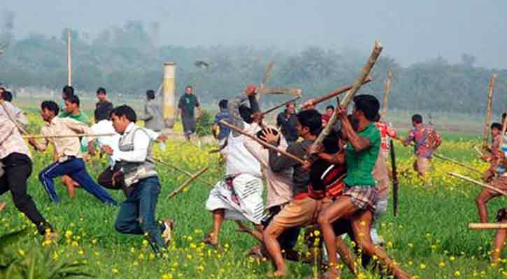 সুনামগঞ্জে দু'পক্ষের সংঘর্ষে আহত অর্ধশতাধিক
