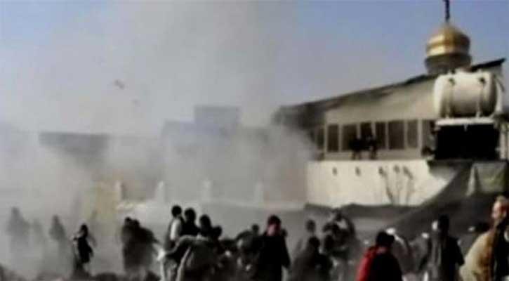 আফগানিস্তানে মসজিদে বোমা হামলা, ৬২ মুসল্লি নিহত