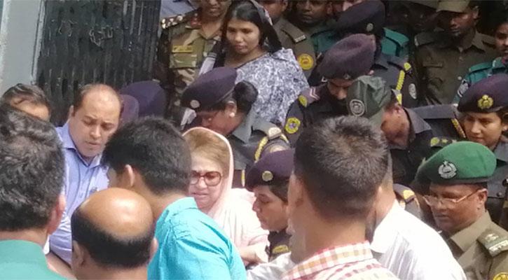 খালেদা জিয়াকে দন্ত বিভাগে নেয়া হয়েছে