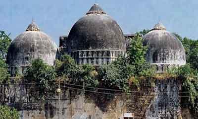 বিতর্কিত স্থান মন্দিরের, মসজিদের জন্য পৃথক জমি