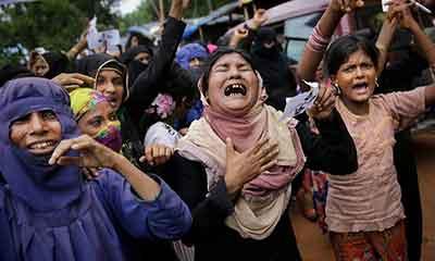 রোহিঙ্গা নিপীড়ন: আইসিসির তদন্ত প্রত্যাখ্যান করল মিয়ানমার